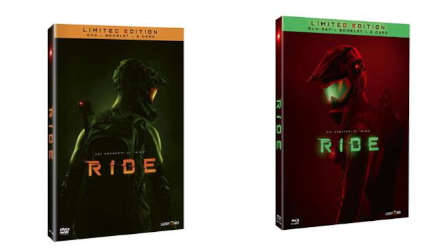 Ride - Home Video - DVD e Blu-ray