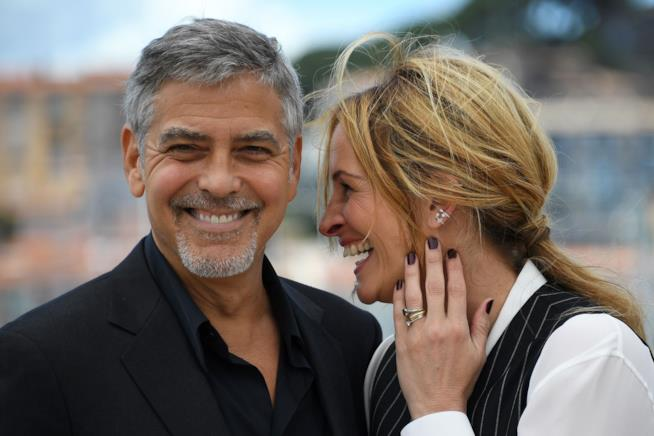 George Clooney e Julia Roberts