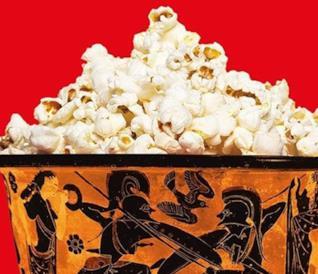 Un reperto a forma di coppa con dentro i popcorn