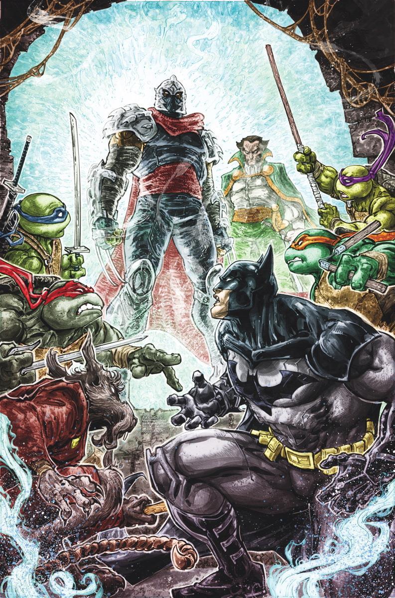 Immagine di Batman e TMNT