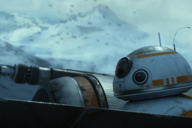 BB-8  sull'X-Wing