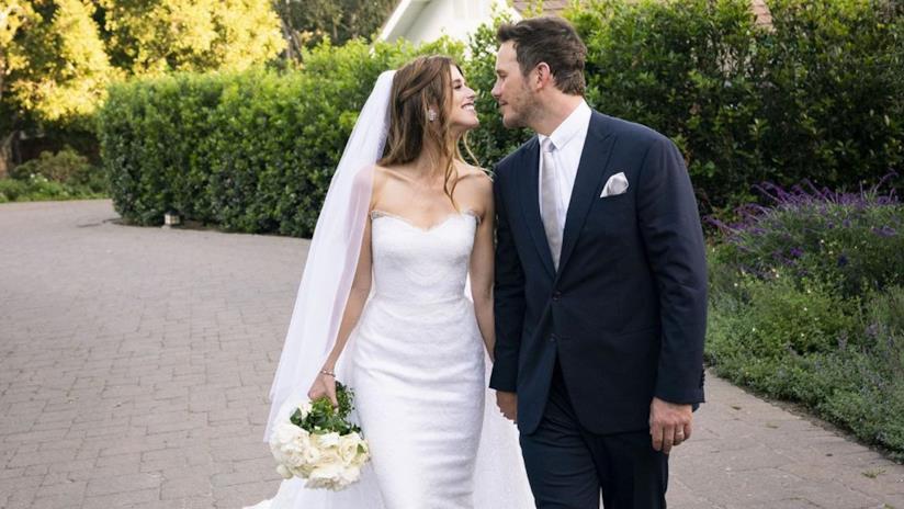 Chris Pratt e Katherine Schwarzenegger si sono sposati