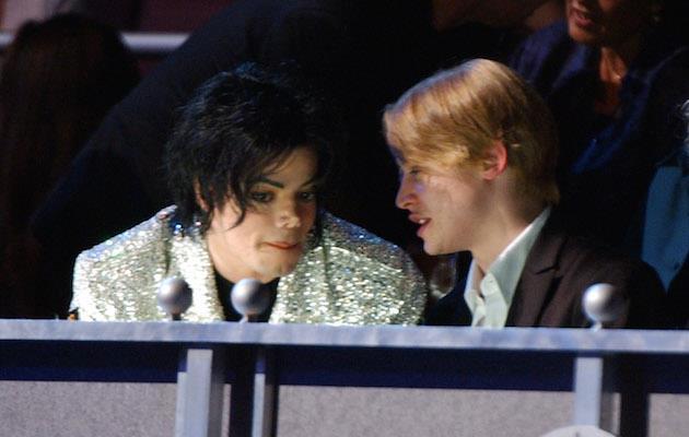 Macaulay Culkin e Michael Jackson a un evento