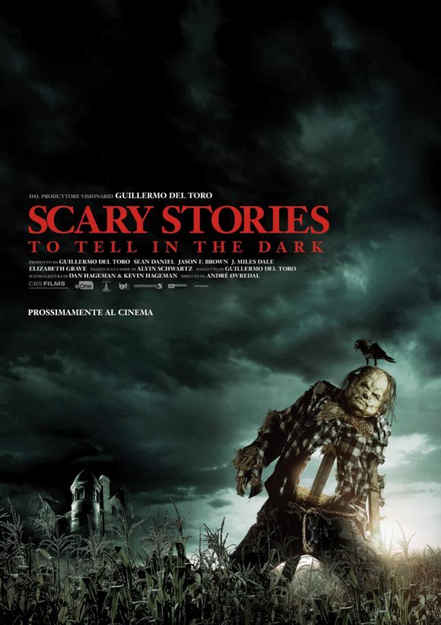 La locandina italiana di Scary Stories to Tell in the Dark