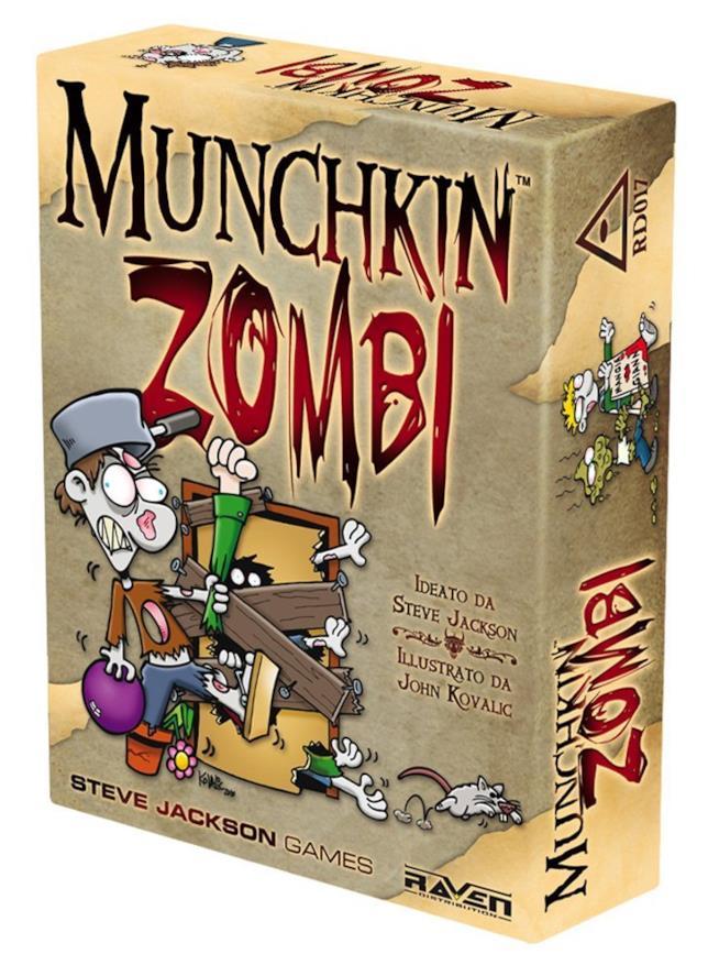 La variante a tema zombie di Munchkin