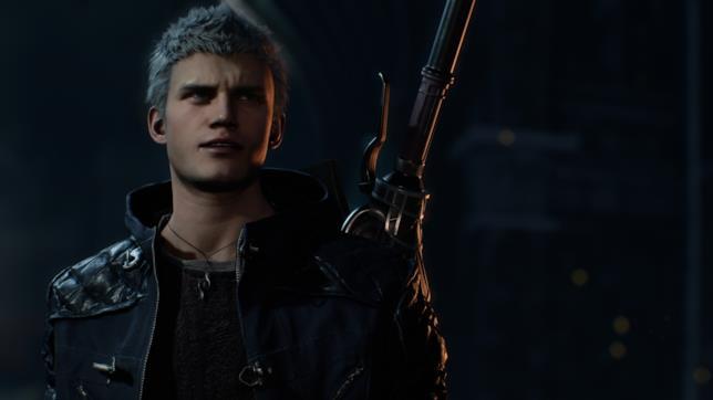 Nero, uno dei personaggio di Devil May Cry 5