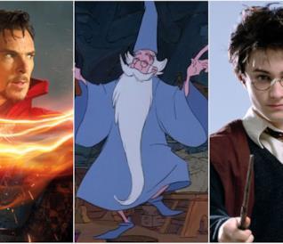 Doctor Strange, Merlino e Harry Potter