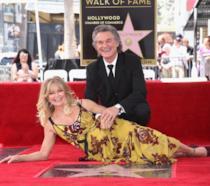 Goldie Hawn e Kurt Russell sulla Walk of Fame