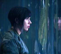 Scarlett Johansson nel ruolo del Maggiore
