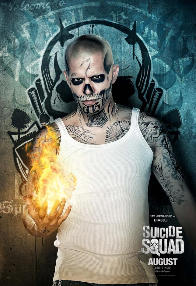 Jay Hernandez in Suicide Squad