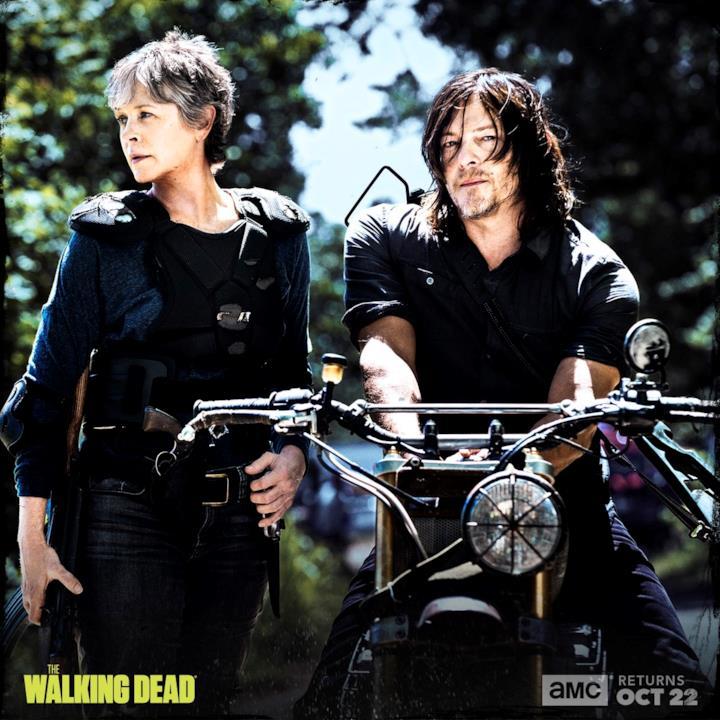 Carol e Daryl pronti al peggio
