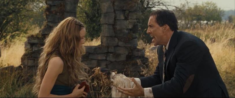 Una scena del Prescelto con Nicolas Cage