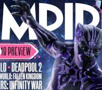 Il nuovo costume di Black Panther sulla cover di Empire