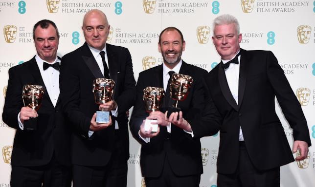 I vincitori del BAFTA Award 2016 per gli effetti visivi per Star Wars 7