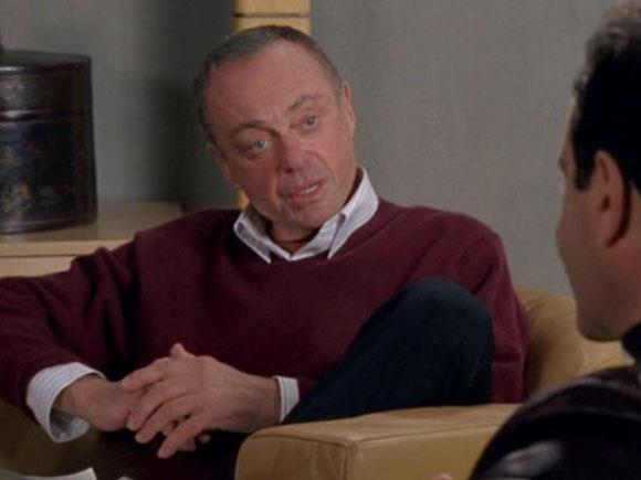 Charles Kroger durante una seduta col Detective Monk