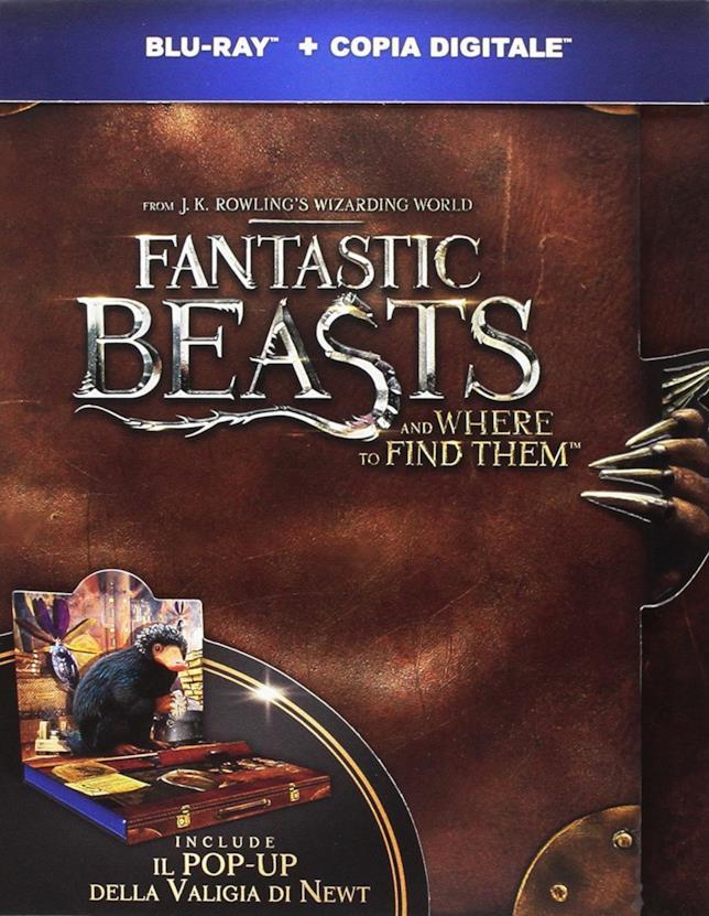 Cover di Animali Fantastici nell'edizione POP UP Snaso