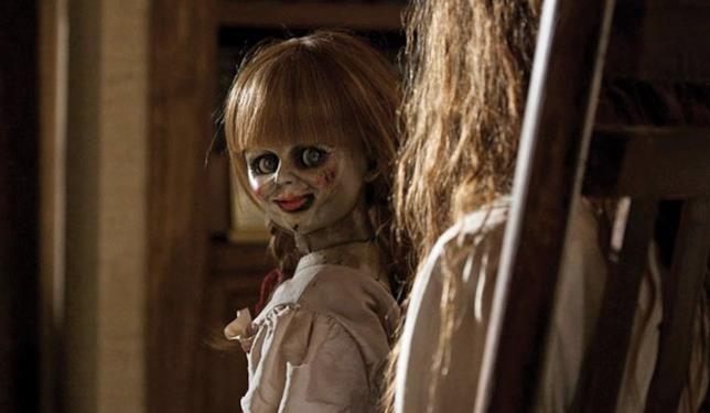 Annabelle 2, una scena della bambola