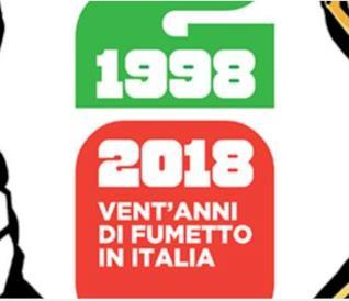 La cover di 1998-2018 Vent'anni di fumetto in Italia