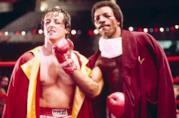 Apollo Creed e Sylvester Stallone