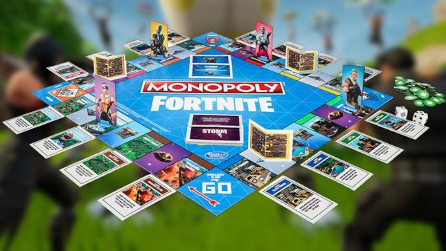 Il Monopoly di Fortnite in uscita ad ottobre