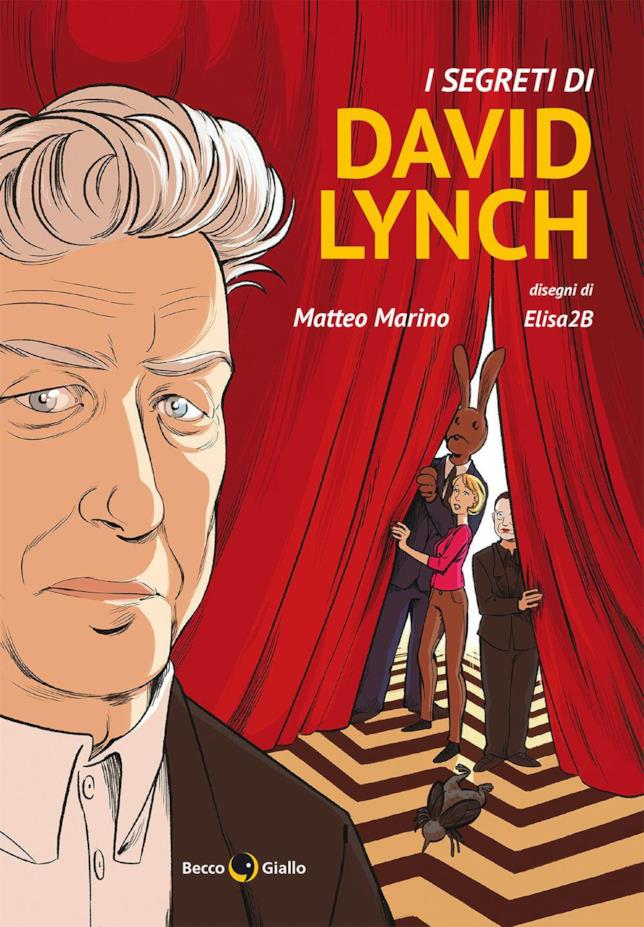 La copertina de I segreti di David Lynch