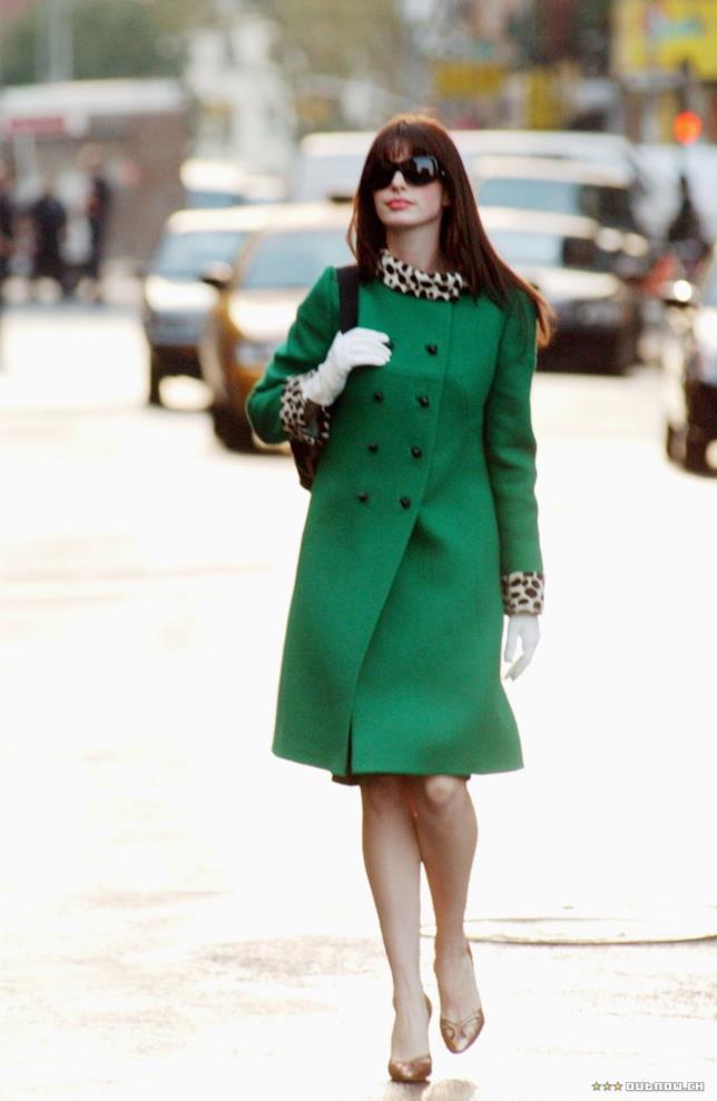 Il cappotto verde e animalier di Andy