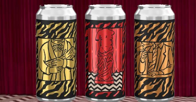 Le tre varianti di lattine di birra di Mikkeller ispirate a Twin Peaks
