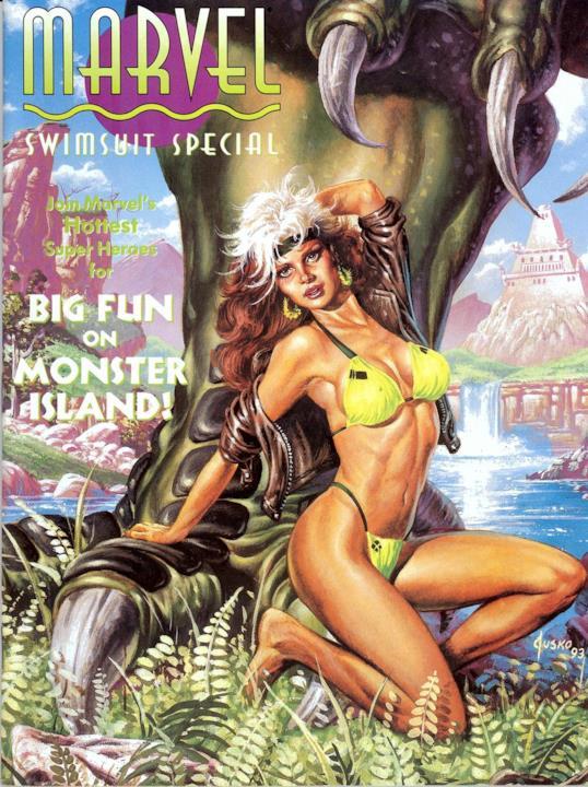 Marvel Swimsuit Special: la copertina del 1993
