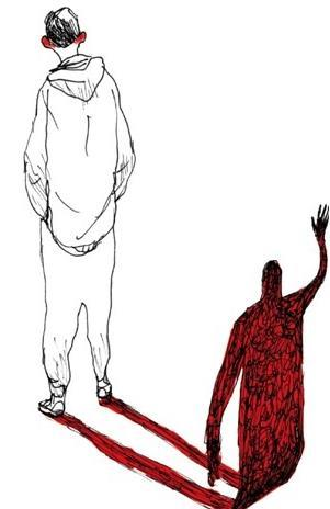 Gipi realizza la copertina de Gli sdraiati di Serra