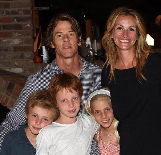 Julia Roberts: la sua famiglia
