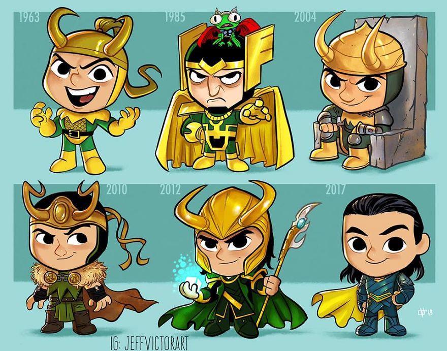 L'evoluzione delle icone della cultura pop: Loki