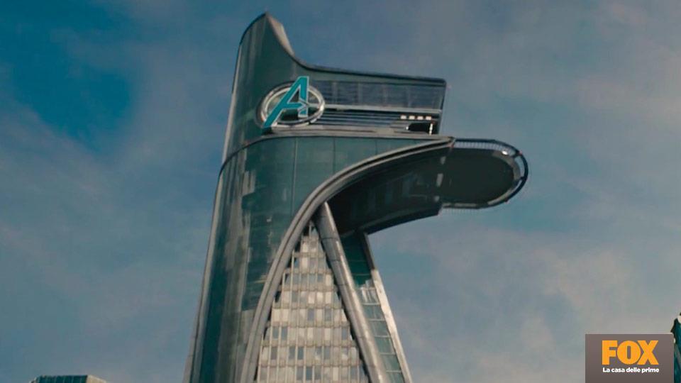 La Torre degli Avengers, realizzata da Charles Wood, è il più grande set mai realizzato per un film dei Marvel Studios.