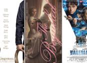 I poster dei film: Kingsman 2, L'Inganno e Valerian e la Città dei Mille Pianeti