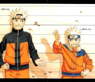 Naruto prima e dopo il timeskip