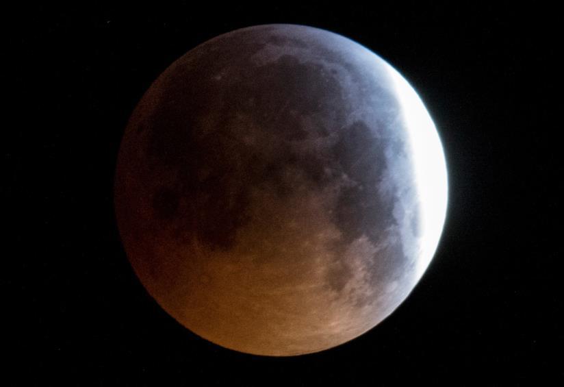 Luna parzialmente oscurata