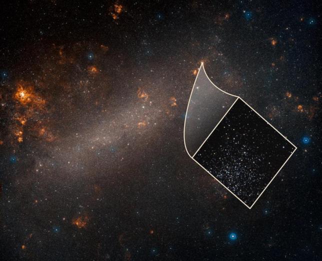 Una foto della Grande Nube di Magellano