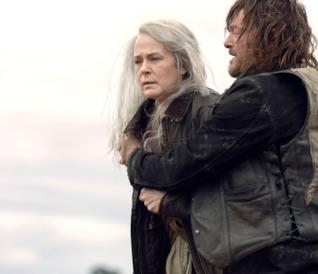 Carol e Daryl in The Walking Dead 9