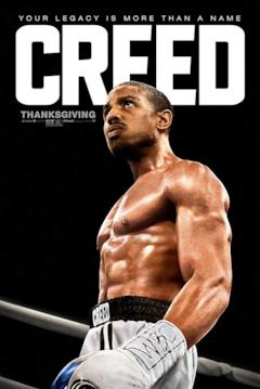 Adonis nel poster del film Creed