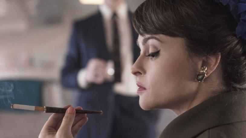 Un primo piano di Helena Bonham Carter nei panni della Principessa Margaret