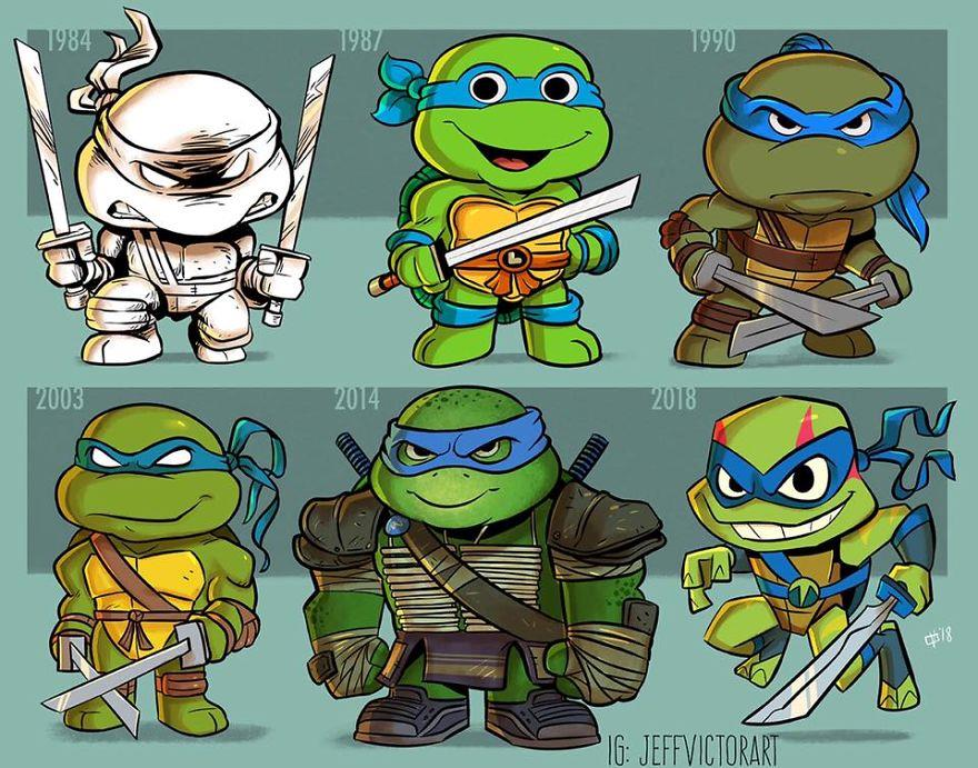 L'evoluzione delle icone della cultura pop: Leonardo delle Tartarughe Ninja