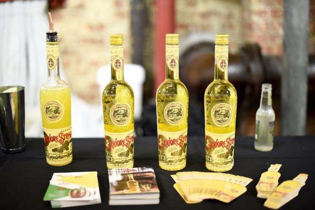 Le bottiglie storiche dello Strega