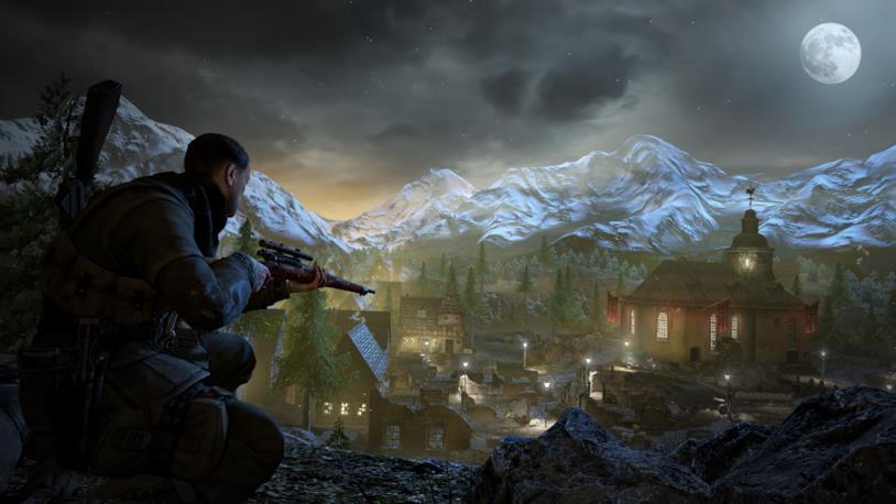 Uno screenshot da Sniper Elite V2