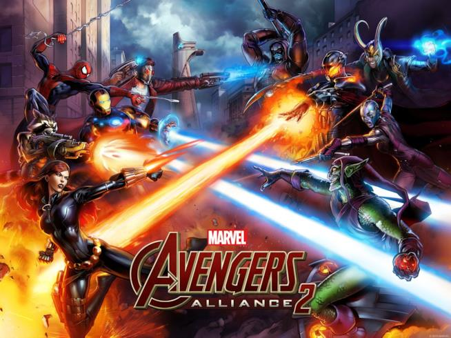 Marvel Avengers Alliance 2 sarà tra poco disponibile su Facebook