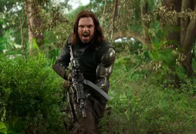 Il Soldato d'Inverno entra in azione nello spot di Infinity War