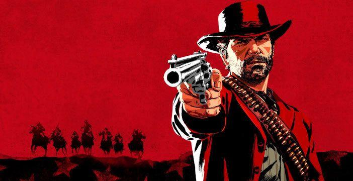 Arthur Morgan in un concept art di Red Dead Redemption 2