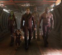 Scena tratta dal primo I Guardiani della  Galassia