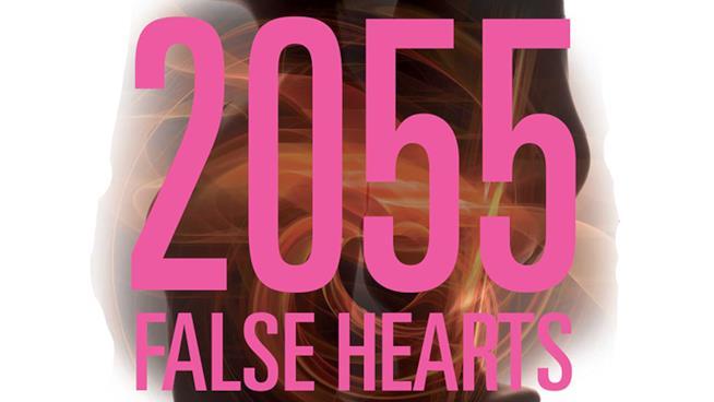 Un dettaglio della copertina di 2055 False Hearts