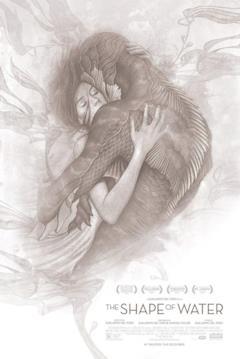 L'abbraccio fra Elisa e la creatura marina