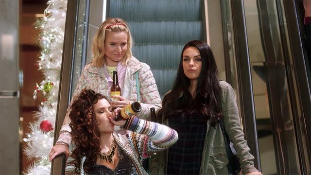 Le protagoniste in una scena di Bad Moms 2