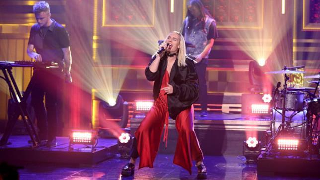 MØ al The Tonight Show con Jimmy Fallon